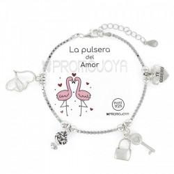 Pulsera Plata Amor