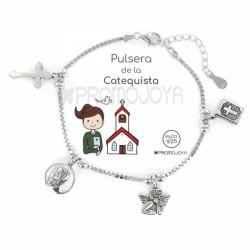 Pulsera Plata Catequista