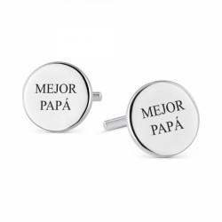 Gemelos de plata mejor papá