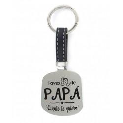Llavero Papá cuánto Te Quiero