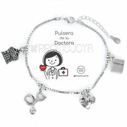 Pulsera Plata Doctora