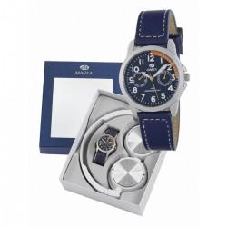 Reloj Niño Comunión azul +...