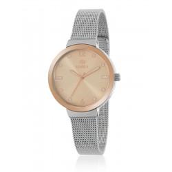Reloj Marea Mujer Dorado Rosa
